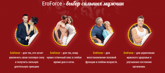 EroForce - капсулы для мужчин